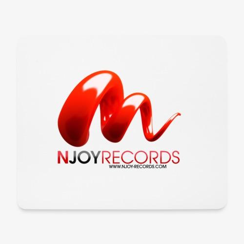 Logo Njoy Records Noir - Tapis de souris (format paysage)