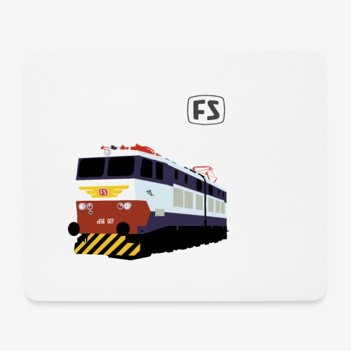 FS E 656 Caimano - Tappetino per mouse (orizzontale)