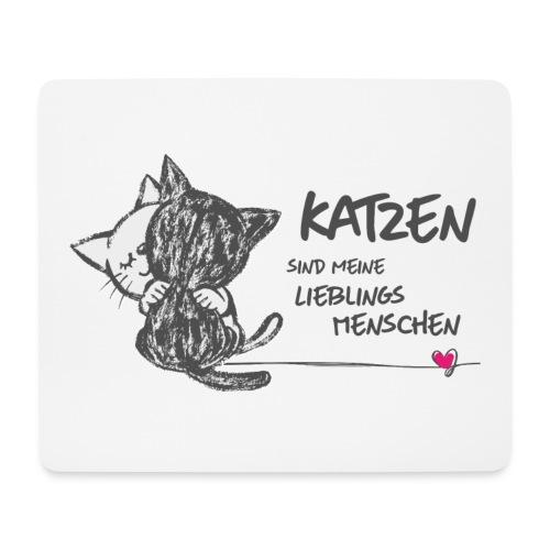 Vorschau: Katzen Lieblingsmenschen - Mousepad (Querformat)