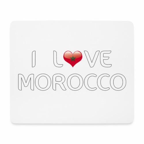 i_love_morocco - Mouse Pad (horizontal)