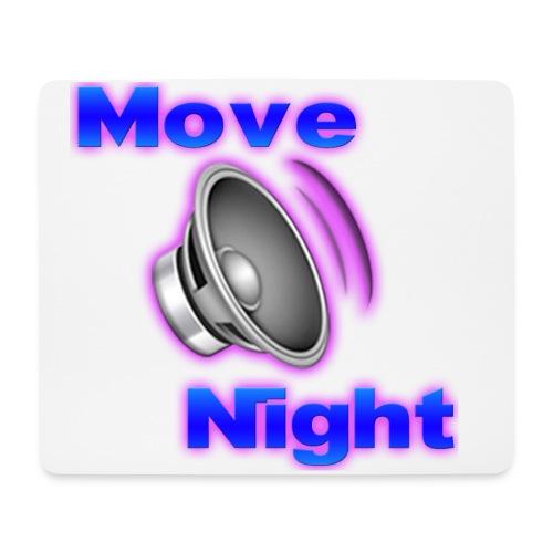 Logo-Move-Night-4096px2 - Tapis de souris (format paysage)