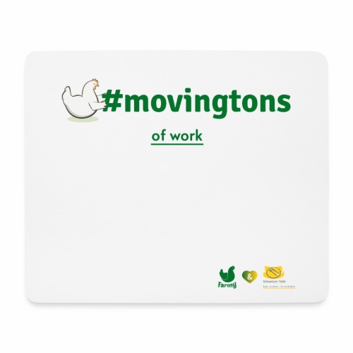 movingtons of work - Mousepad (Querformat)