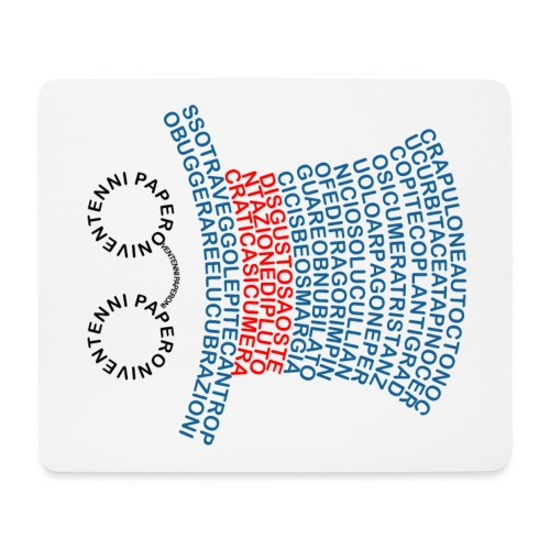 Parole Desuete - Tappetino per mouse (orizzontale)