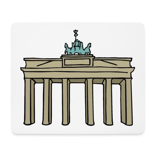 Brama Brandenburska BERLIN c - Podkładka pod myszkę (orientacja pozioma)