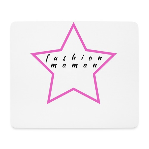 Fashion Maman - Tapis de souris (format paysage)