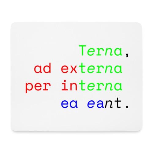 Terna Alba - Tappetino per mouse (orizzontale)