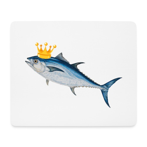 OFFICIAL KING TUNA MERCH - Mouse Pad (horizontal)