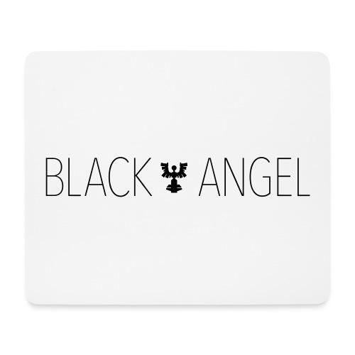 BLACK ANGEL - Tapis de souris (format paysage)