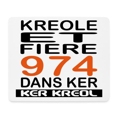 974 ker kreol - Kreole et Fiere - Tapis de souris (format paysage)