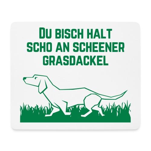 Grasdackel - Mousepad (Querformat)