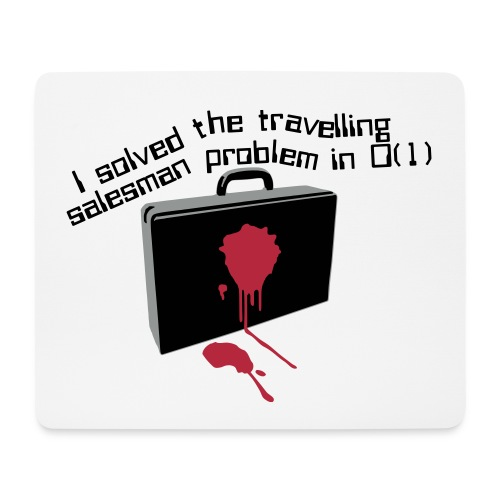 The Travelling Salesman - Mouse Pad (horizontal)