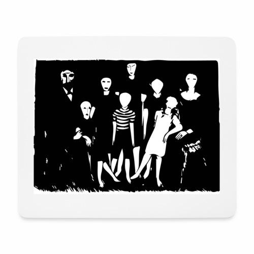 Familienbild - Mousepad (Querformat)