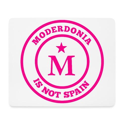 Moderdonia is not Spain rosa - Alfombrilla de ratón (horizontal)