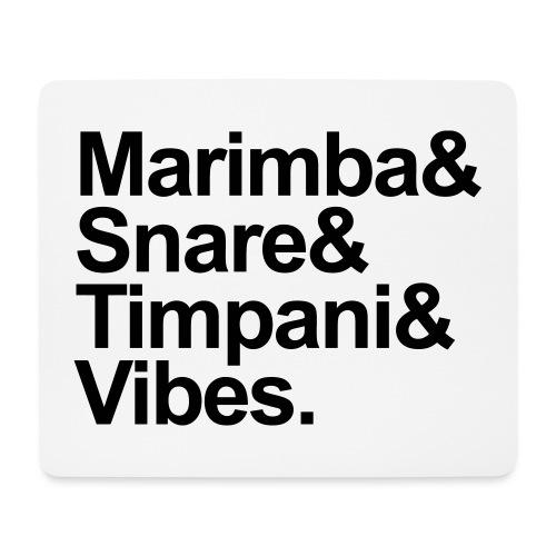 Marimba & Stuff - Mousepad (Querformat)