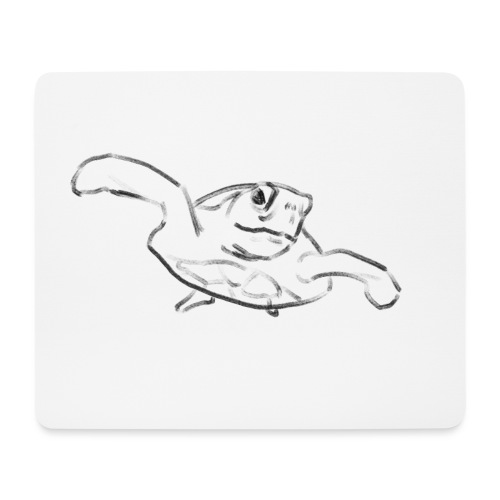 Turtle - Mouse Pad (horizontal)