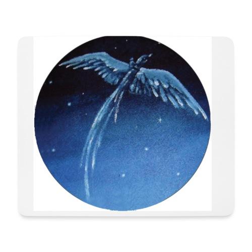Oiseau Bleu 1 - Tapis de souris (format paysage)