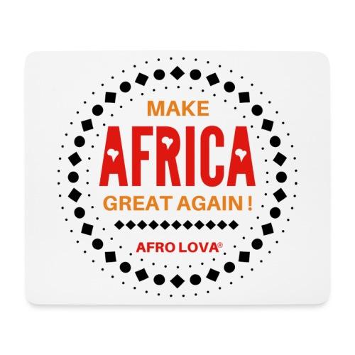 Make Africa Great Again Marron - Tapis de souris (format paysage)