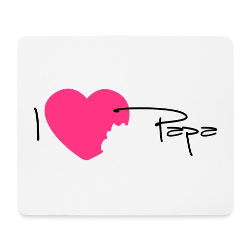I love Papa 13 Vecto - Tapis de souris (format paysage)