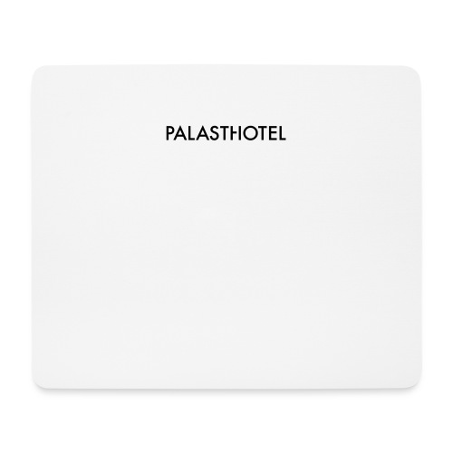 Palasthotel - Mousepad (Querformat)