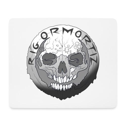 Rigormortiz Black and White Design - Mouse Pad (horizontal)