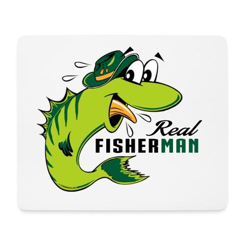 10-38 REAL FISHERMAN - TODELLINEN KALASTAJA - Hiirimatto (vaakamalli)