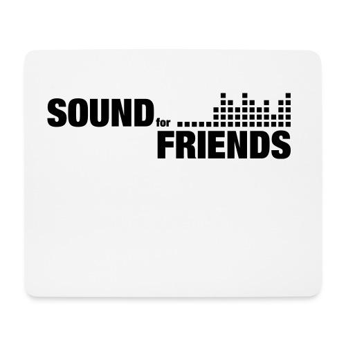 sff-logo-sw - Mousepad (Querformat)