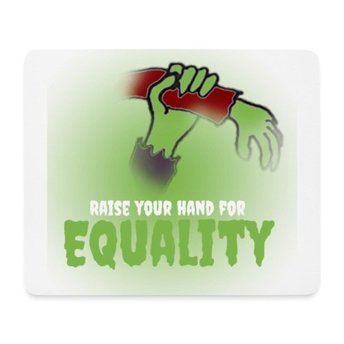 Raise Your Hand - Mouse Pad (horizontal)