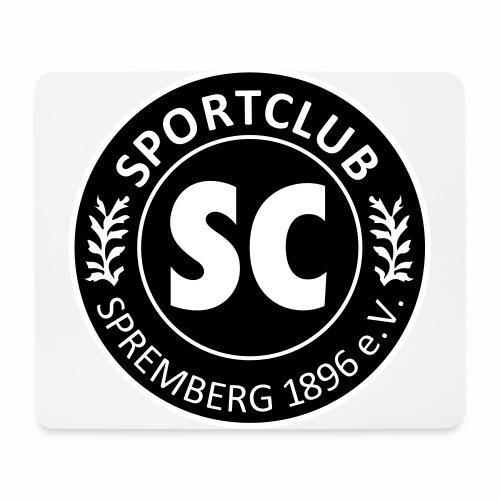 Logo SC Spremberg 2u - Mousepad (Querformat)