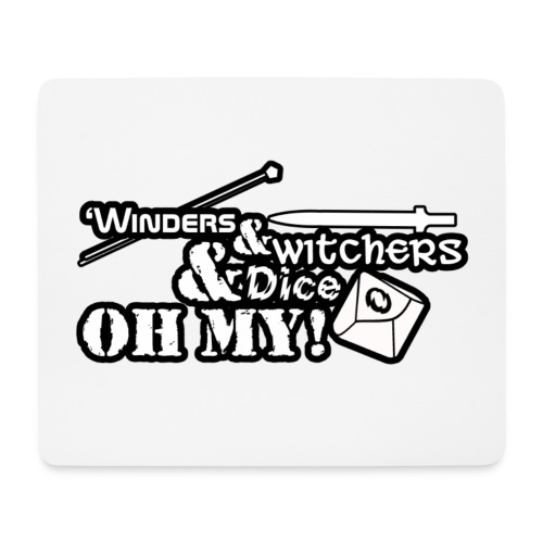 WindersWitchersNDice - Mouse Pad (horizontal)