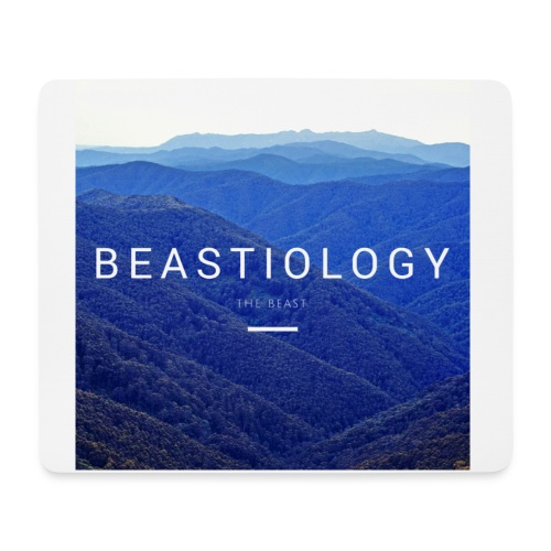 BEASTIOLOGY Album Cover - Mouse Pad (horizontal)