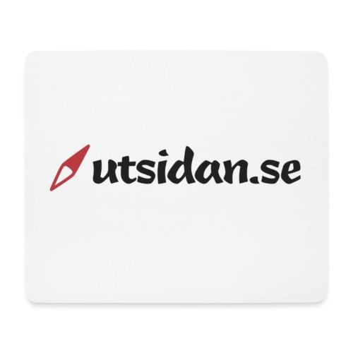 Utsidan logotyp - Musmatta (liggande format)