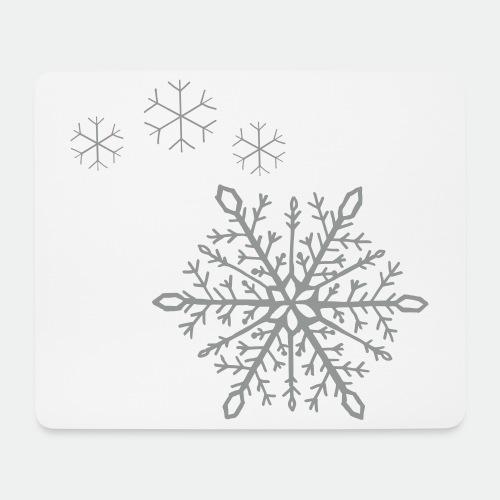 Snowflakes arc - Mouse Pad (horizontal)