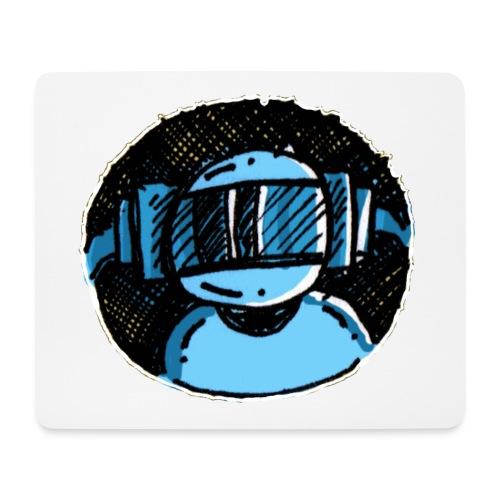 Machine Boy Blue - Mouse Pad (horizontal)