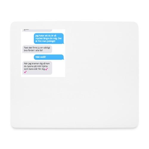Vackert sms motiv - Musmatta (liggande format)