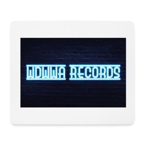 wdwwa records logo 2017 - Mousepad (bredformat)