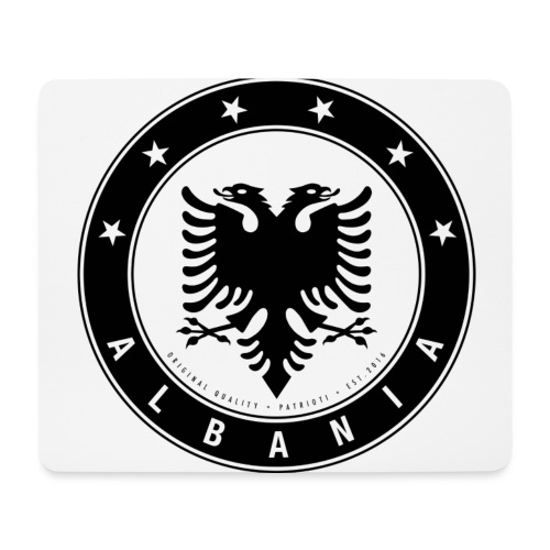 Patrioti Albania Black - Mousepad (Querformat)