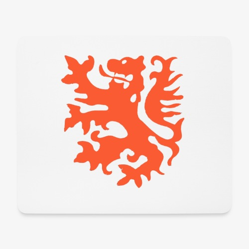Orange lion Replica Holland 1974 - Mouse Pad (horizontal)
