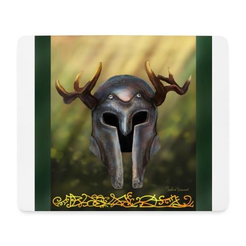 horn helmet - Tapis de souris (format paysage)