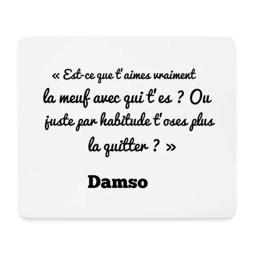 Punchline de Damso - Tapis de souris (format paysage)