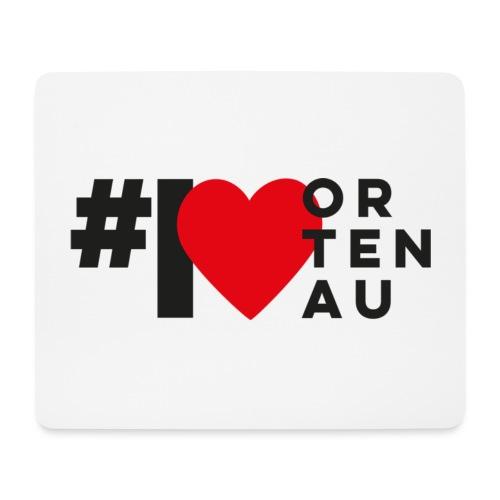 # I LOVE ORTENAU - Mousepad (Querformat)