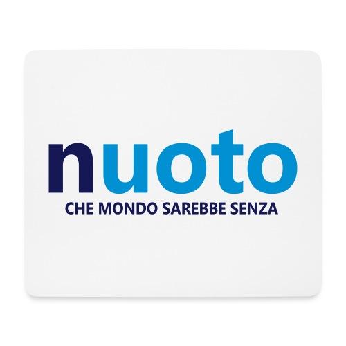 NUOTO - CHE MONDO SAREBBE - Tappetino per mouse (orizzontale)