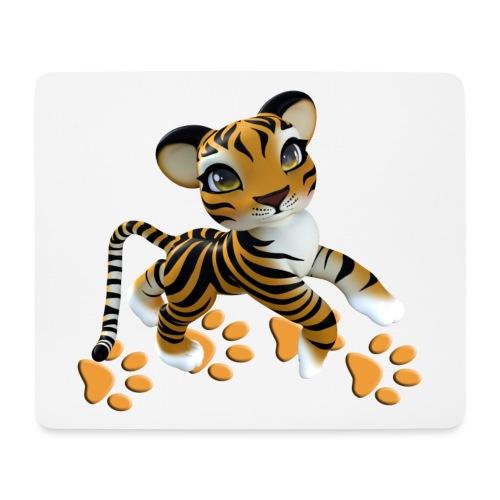 Kleiner Tiger - Mousepad (Querformat)