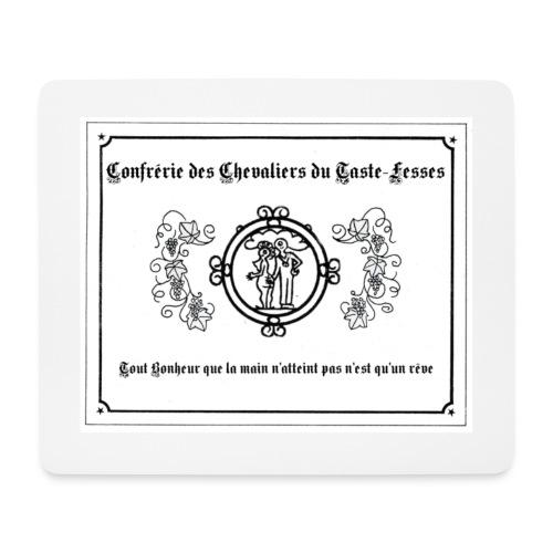 etiquette - Tapis de souris (format paysage)