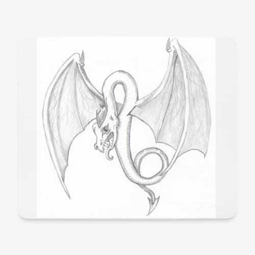 Dragon - Tapis de souris (format paysage)