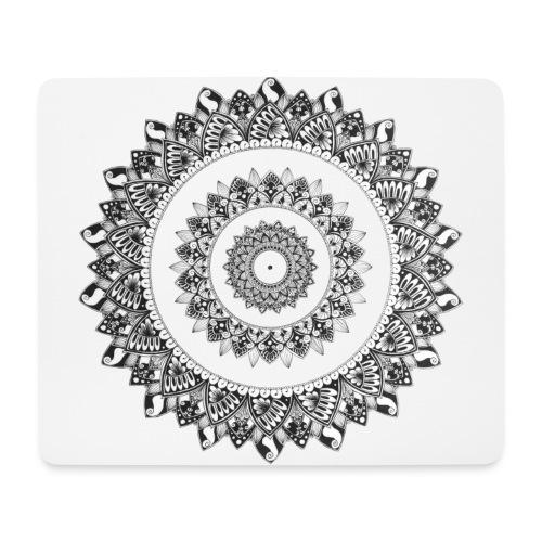 Mandala Black&White - Tappetino per mouse (orizzontale)