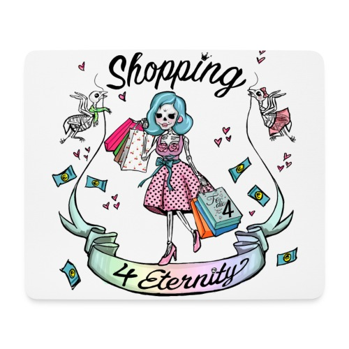 Shopping für immer und ewig - Mousepad (Querformat)