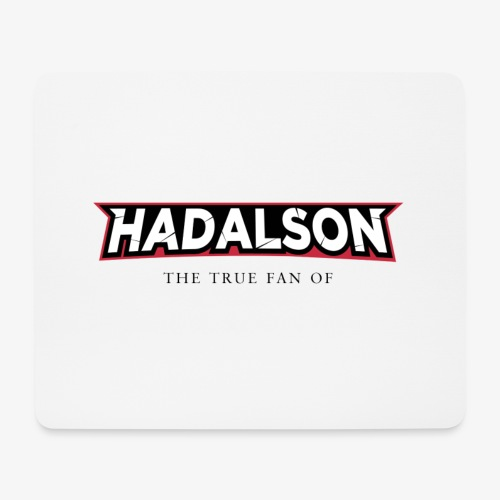 The True Fan Of Hadalson - Mouse Pad (horizontal)