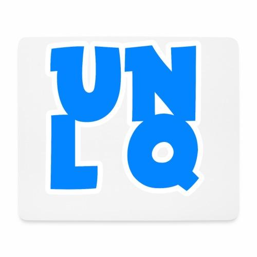 Mit dem Orginalen UNLQ Logo - Mousepad (Querformat)