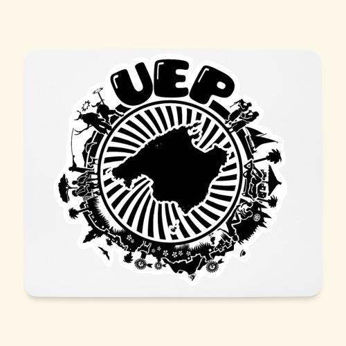 UEP white background - Mouse Pad (horizontal)
