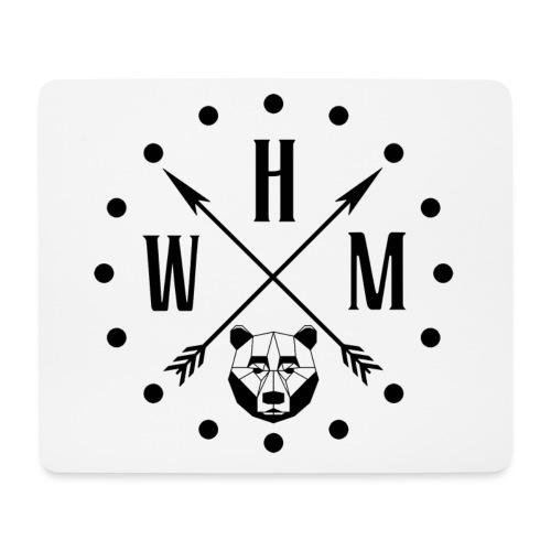 Waltherman logo flèches - Tapis de souris (format paysage)